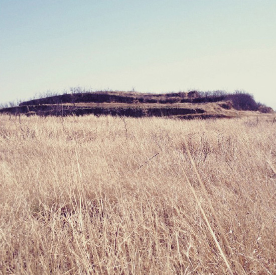 Kan Xuan 'Millet Mounds' video installation