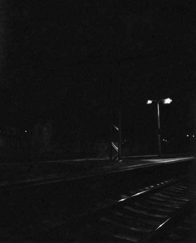 David Ancelin Serie By night untitled