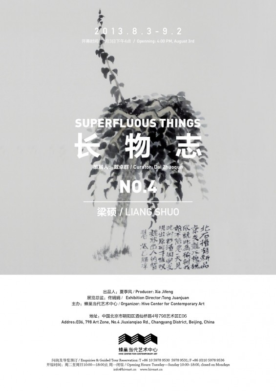 LiangShuo exhibition poster