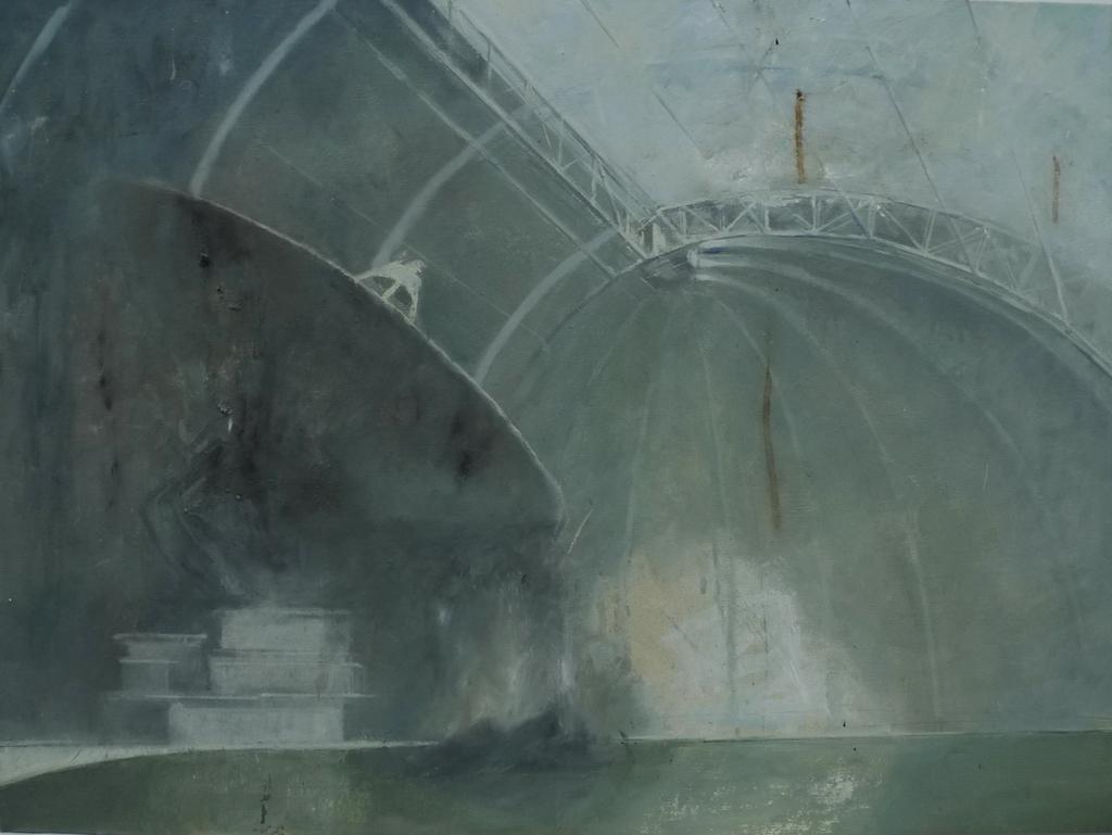 水池的习作 2010 60 x 80cm