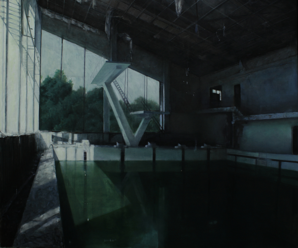 缄默的容器 2010 200cm  x 230cm