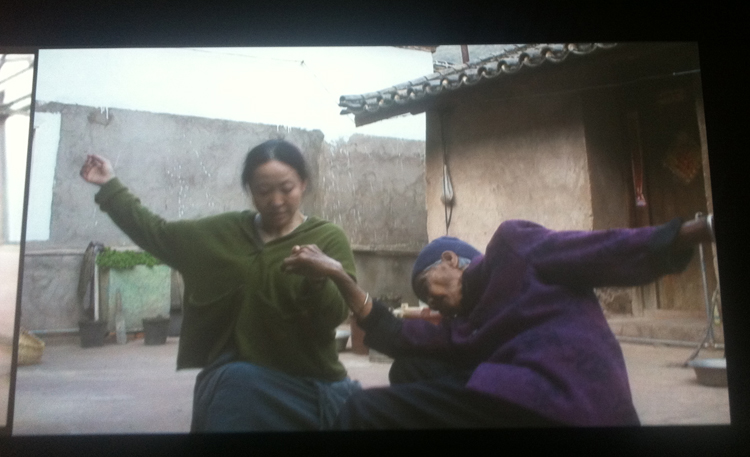 Dancing with third grandma by Wenhui