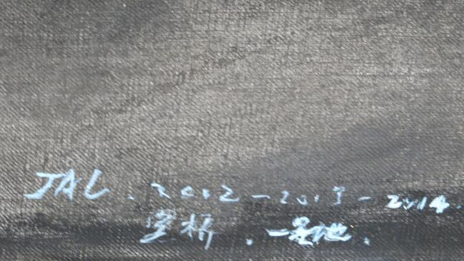 Jia Aili Palazzo Grassi Venice detail