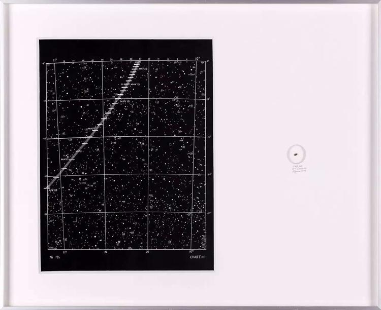 NYY Comet N°1-4 lixed ledua ib oaoer 42x51,4x2,8cm 2015 courtesy Ni Studio
