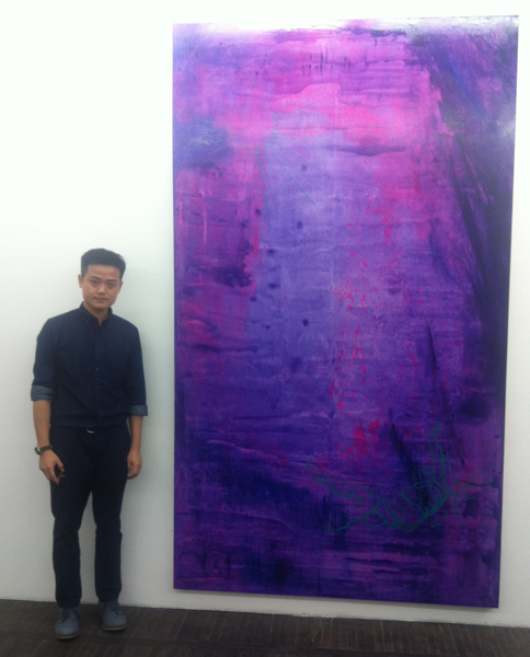 Yunyao portrait at the opening