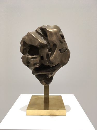 Apocalypse 16.1.14 Bronze sculpture 32x31x15cm 2016
