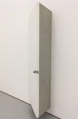 The shape of 45 degrees 2016 door, doorknob, cement, cement board, 78x58x240cm