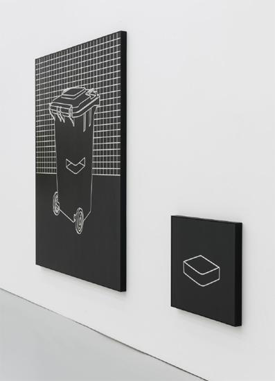 Gao Lei H 12 aluminum, varnish194.5×146×5cm;60.5×60.5x5cm ed.3