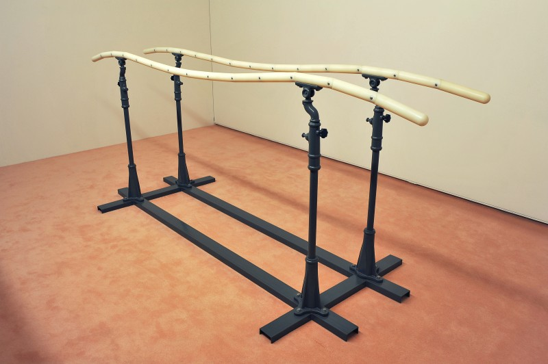 G-350 parallel bars nylon screw 346x120x136cm,2013