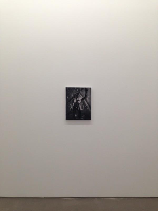 ZYY Portrait Graphite on felt 53x42cm 2017