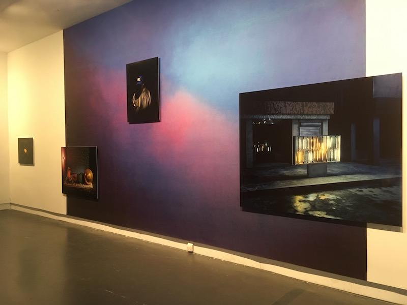 Chen Wei Exhibition installation view