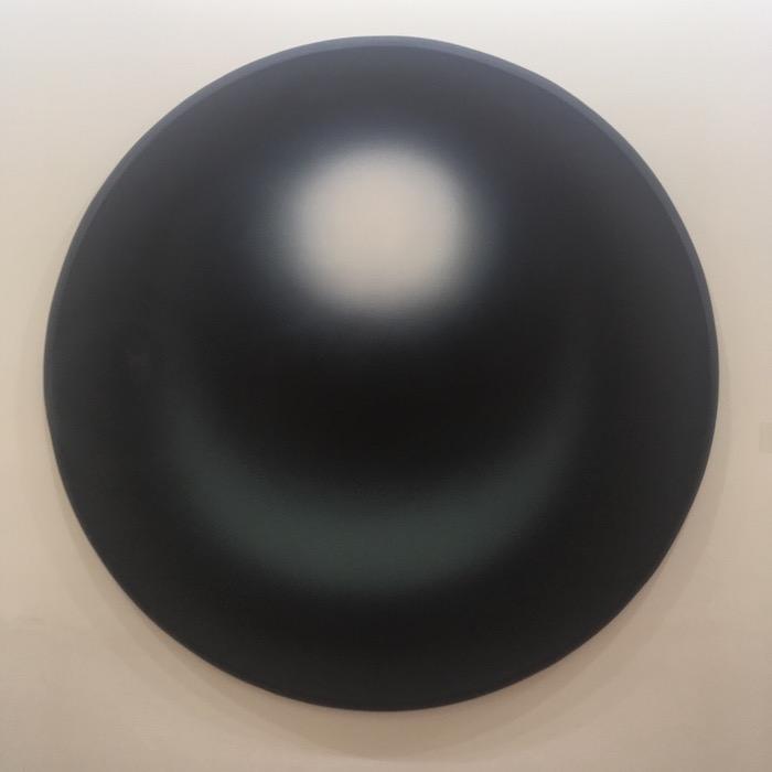 Li Shurui Black surface 2017 acrylic on canvas 150cm