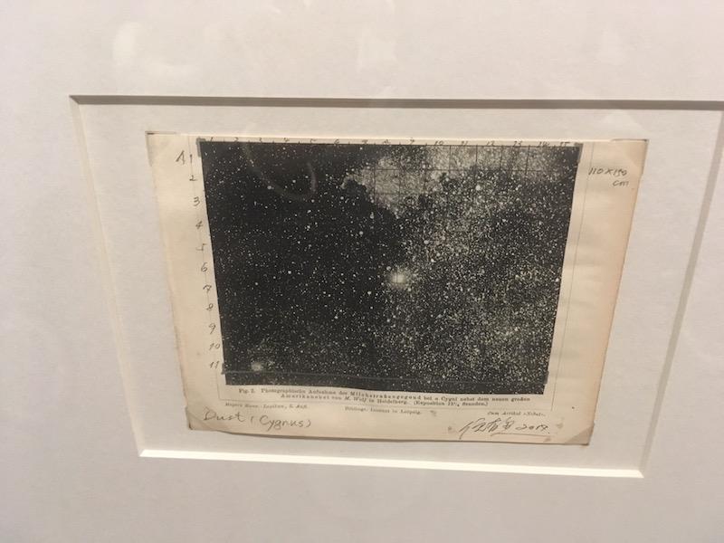 Ni Youyu Dust Sketch Cygnus mixed media on paper 2017