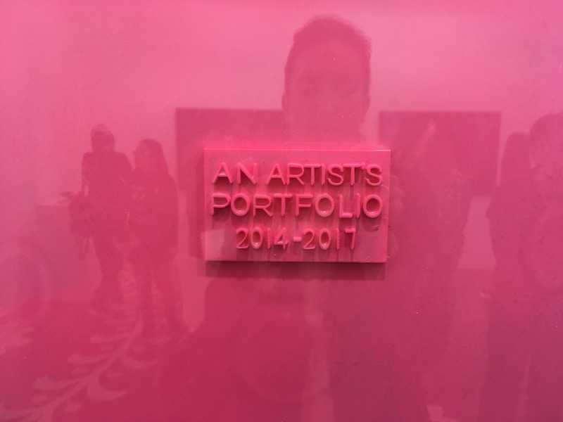 Wang Xin an artist portfolio 2014-17 series N°2 2017