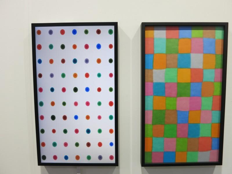 Dong Dawein Spring of Eden, Marker on paper, 61x35cm, video 2'03