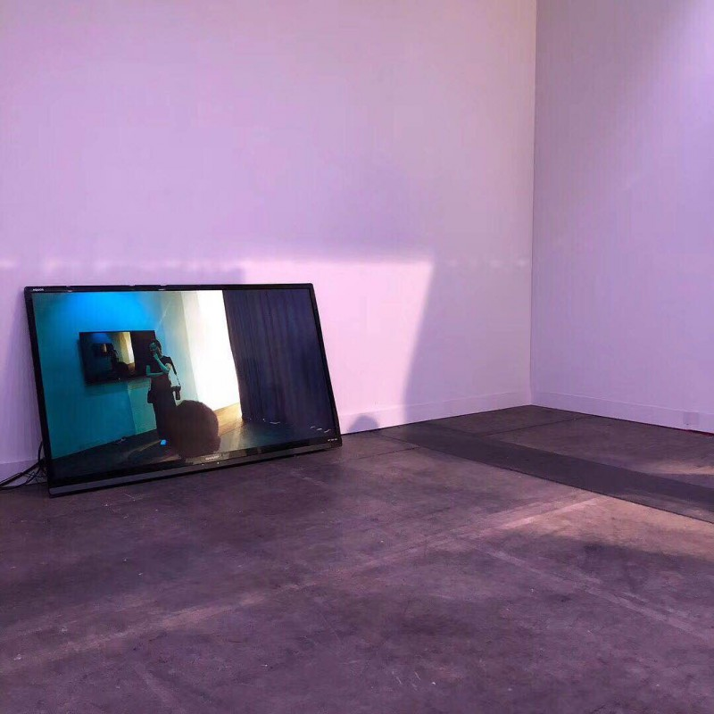 Feng Chen, The Darker Side of Light - Color, Multi-media installation, 2018