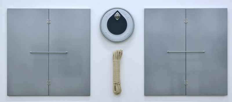 Gao Lei, Flag, mixed media, 78×196×7 cm, 2017