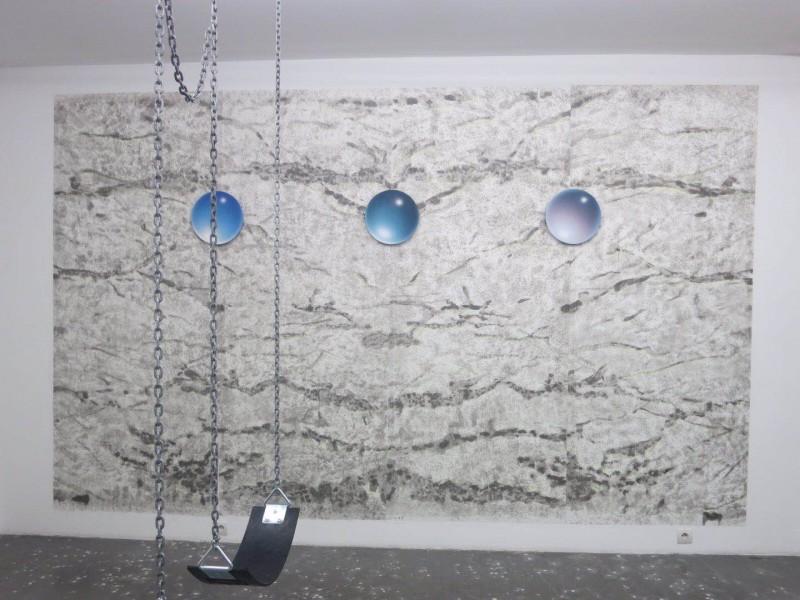 Li Shurui at New Galerie Paris 2