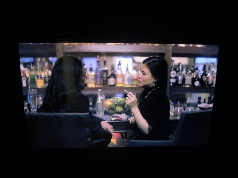 Li Shurui at New Galerie Paris Video work 2