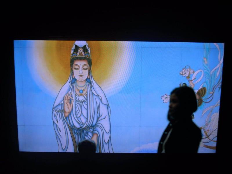 Li Shurui at New Galerie Paris video work 1