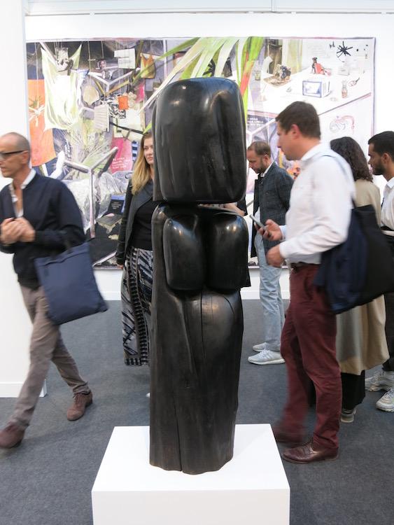 Fiac18 Wang Keping at Galerie Obadia