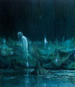 JIA Aili, The Wasteland, oil on canvas, 232 x 200 cm, 2008