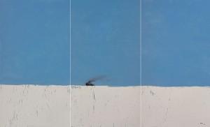 JIA Aili, February Talk-past(car), oil on canvas, 300 x 510 cm, 2006