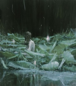 JIA Aili, Serbonian Bog(series), oil on canvas, 169 x 150 cm, 2007