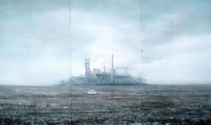 JIA Aili, Depressed Man, oil on canvas ,300 x 500 cm, 2006