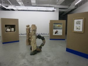 Miao Ying exibition view at MadeIn Gallery