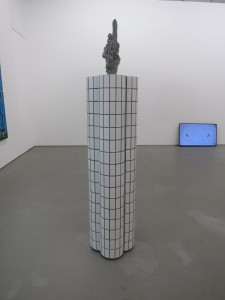 Group Show view at Don gallery work by Zhang Ruyi