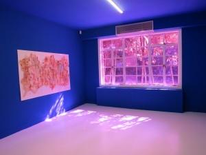 Wang Haiyang exhibition view at Capsule Shanghai