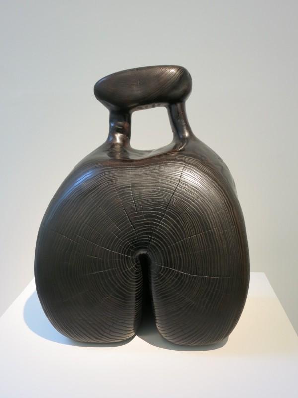 Ex-voto, 2011 sculpture sur bois/ Frêne 50x37x19cm