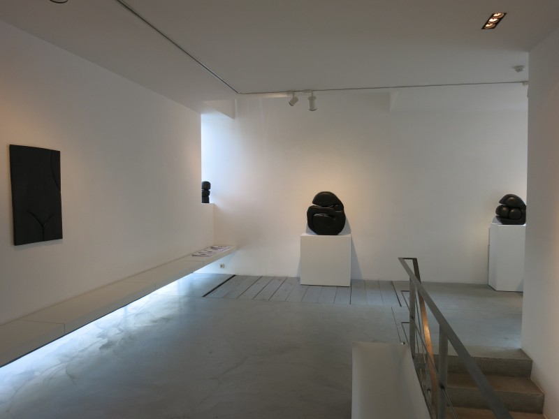 "Exhibition view of ""Simplicité - Nature - Sensualité"""