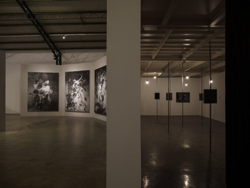 Palace of Extasy exhibition view at Qiao Space